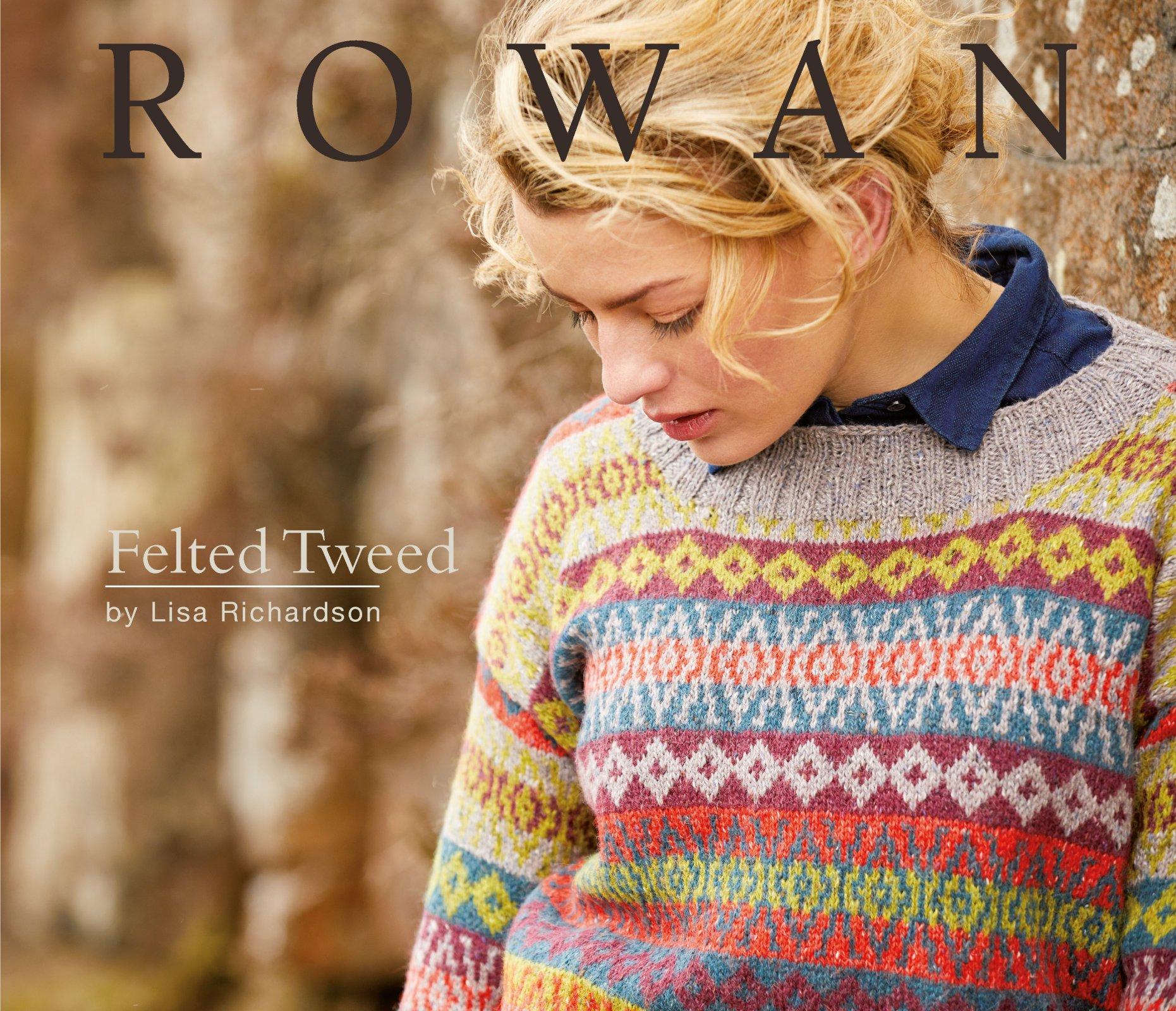 Rowan Felted Tweed Pattern Book by Lisa Richardson