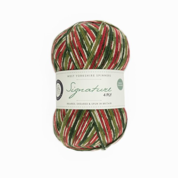 Signature 4ply Christmas Special Edition by the West Yorkshire Spinners