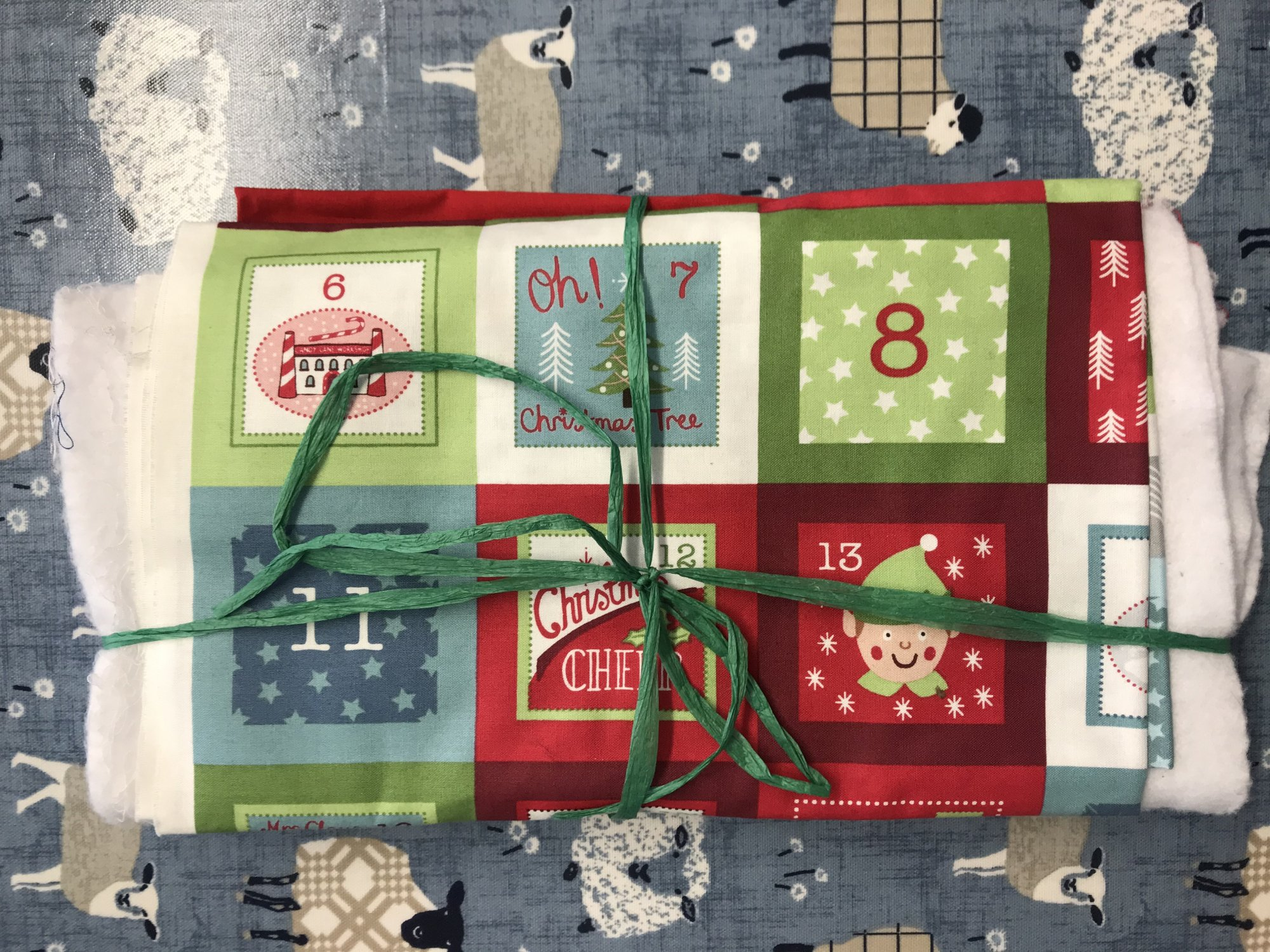 North Pole Advent Calendar by Lewis and Irene Kit