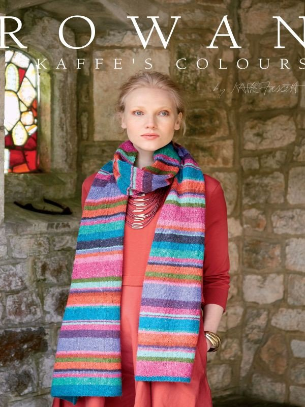 Rowan 'Kaffe's Colours' Pattern Book by Kaffe Fassett