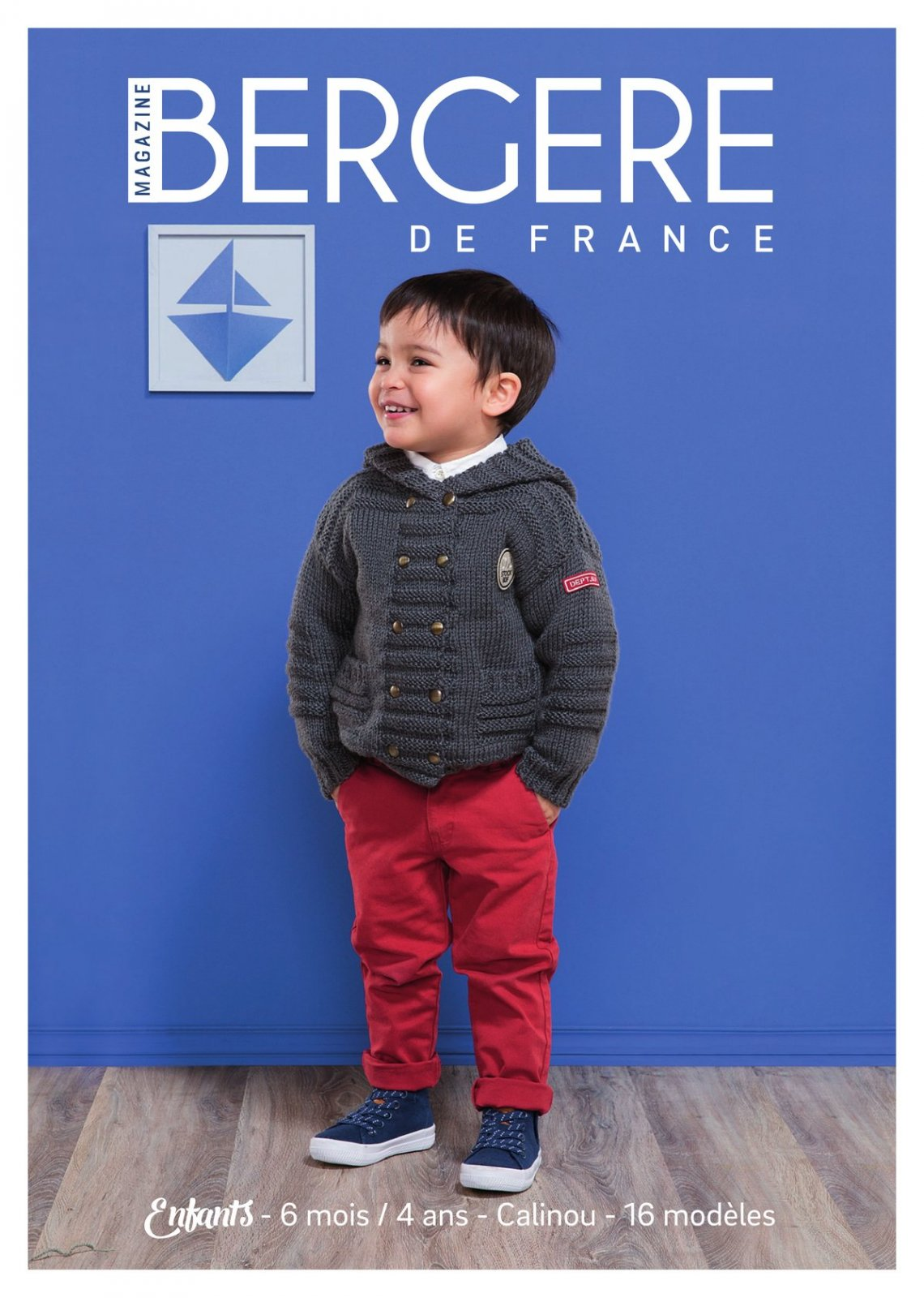 "Pattern Magazine No02 -  ""Children 6 months - 4 years by Bergere de France"