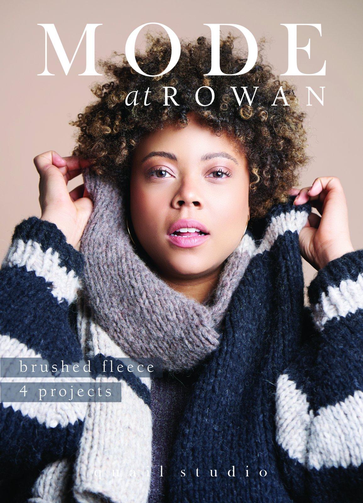 Rowan Brushed Fleece 4 Projects by Quail Studio for Rowan