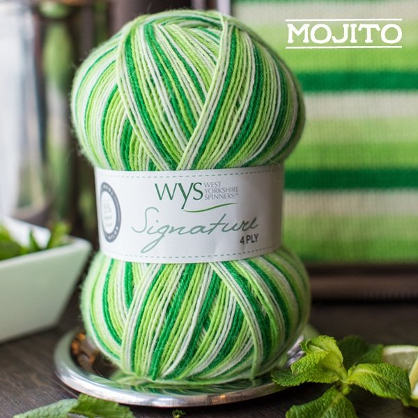 Signature 4ply Cocktail Collection by the West Yorkshire Spinners