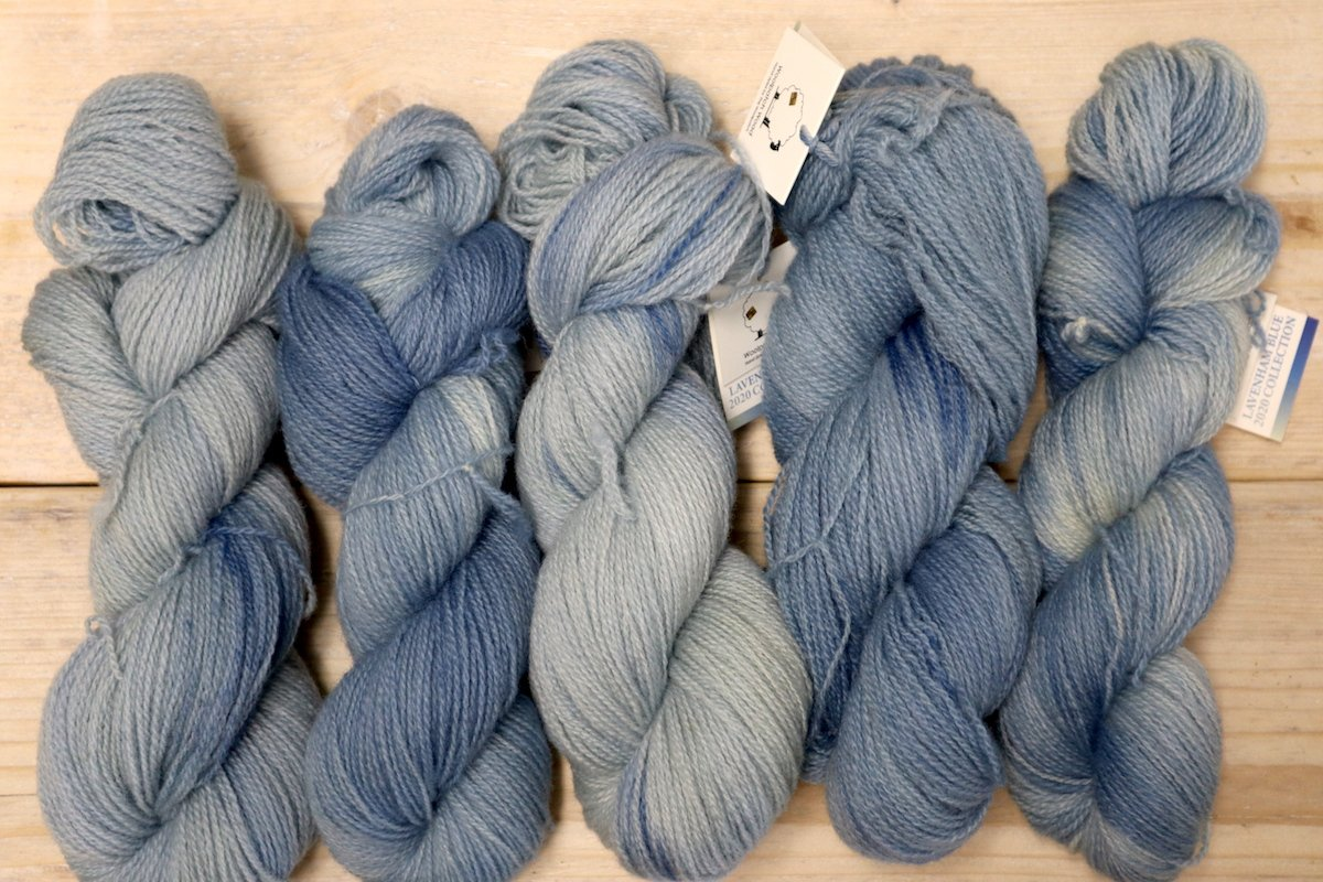 Lavenham Blue 2020 Collection - Naturally Variegated