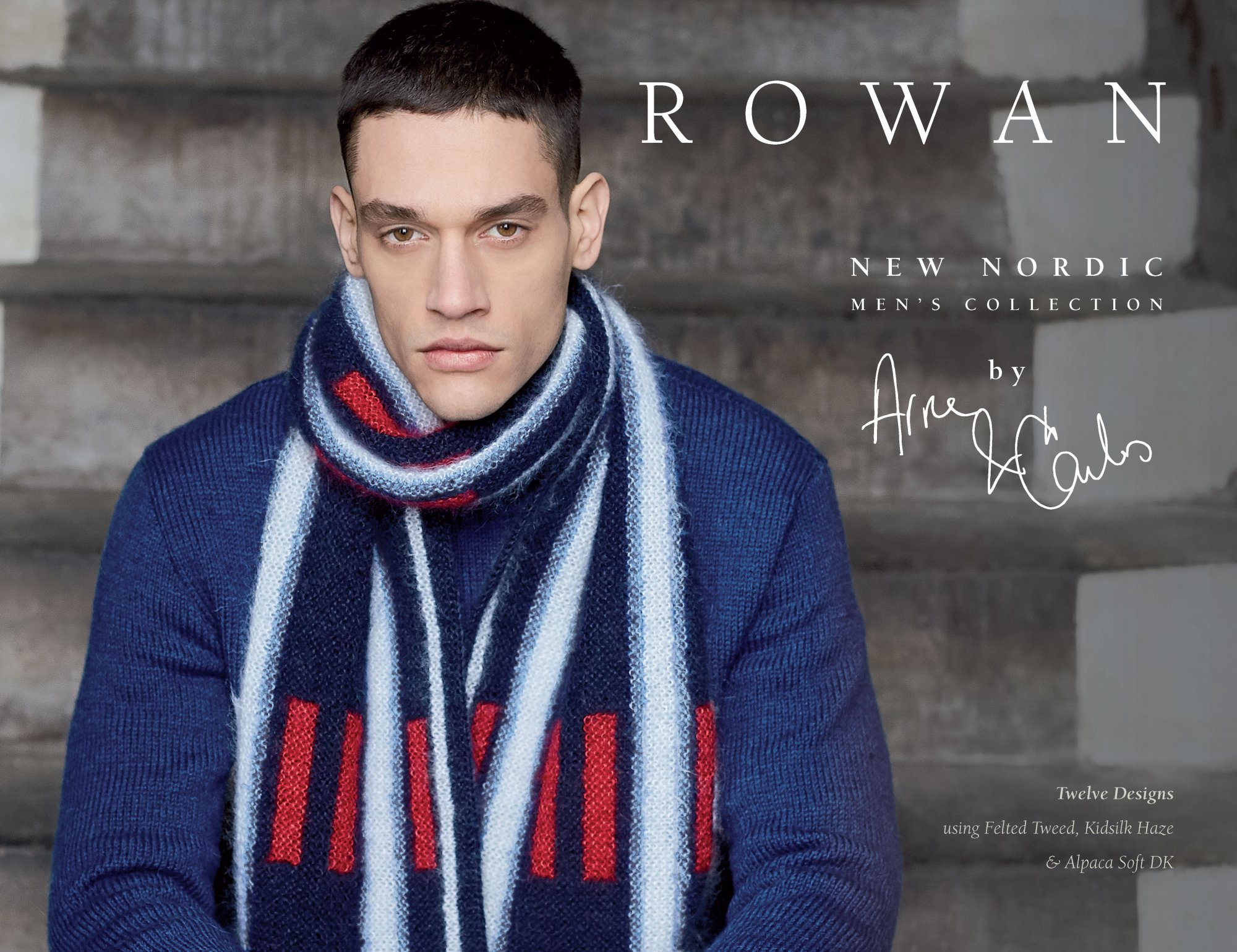 New Nordic Men's Collection by Arne & Carlos for Rowan