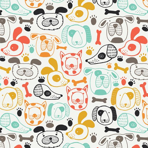 Oh Woof! by Jessica Swift for Art Gallery Fabrics