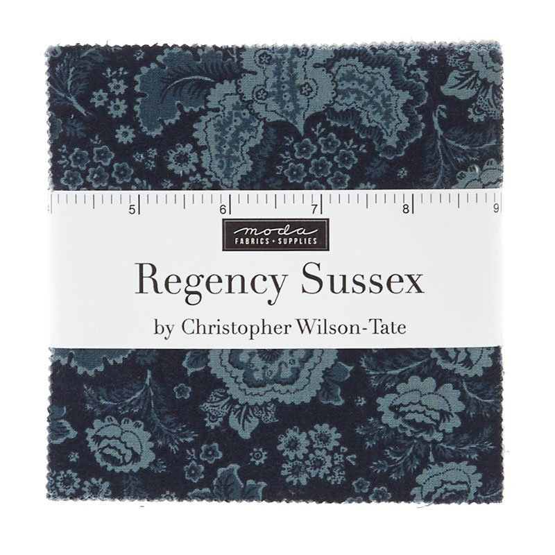 Regency Sussex Charm Pack  by Christopher Wilson Tate for Moda Fabrics