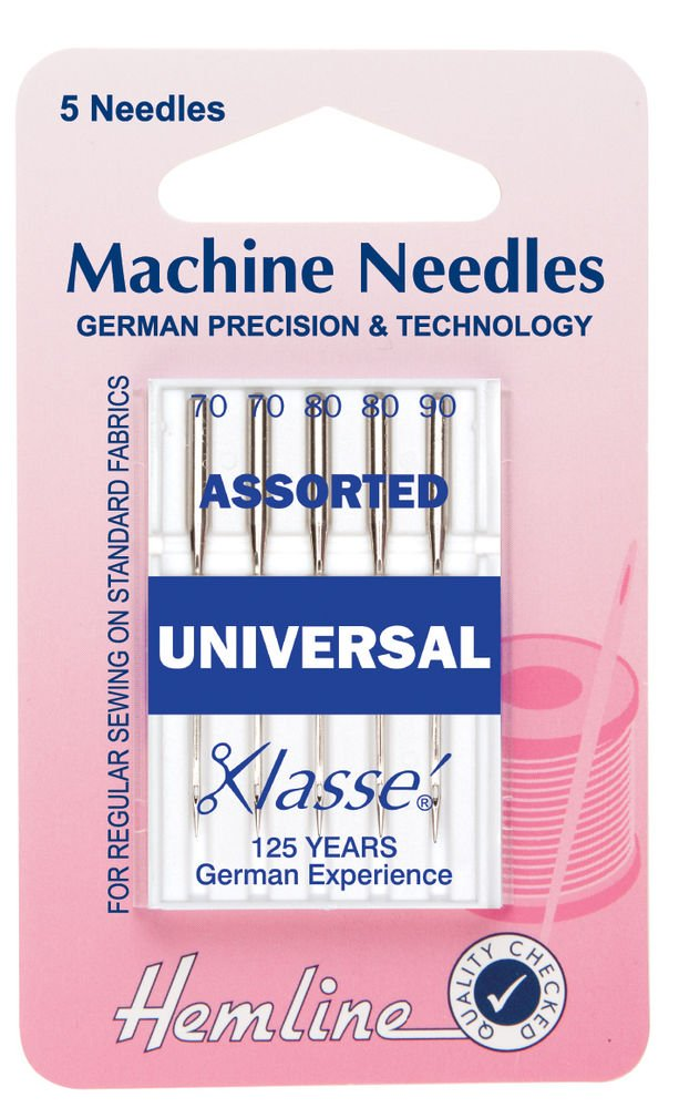 Hemline Machine Needles: Universal Klasse Assorted