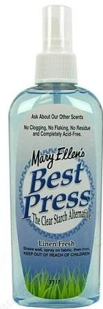 Mary Ellen's Best Press - The Clear Starch and Sizing Alternative!
