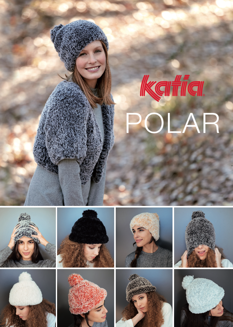 Katia Polar Hat and Jacket FREE Pattern - Digital Download