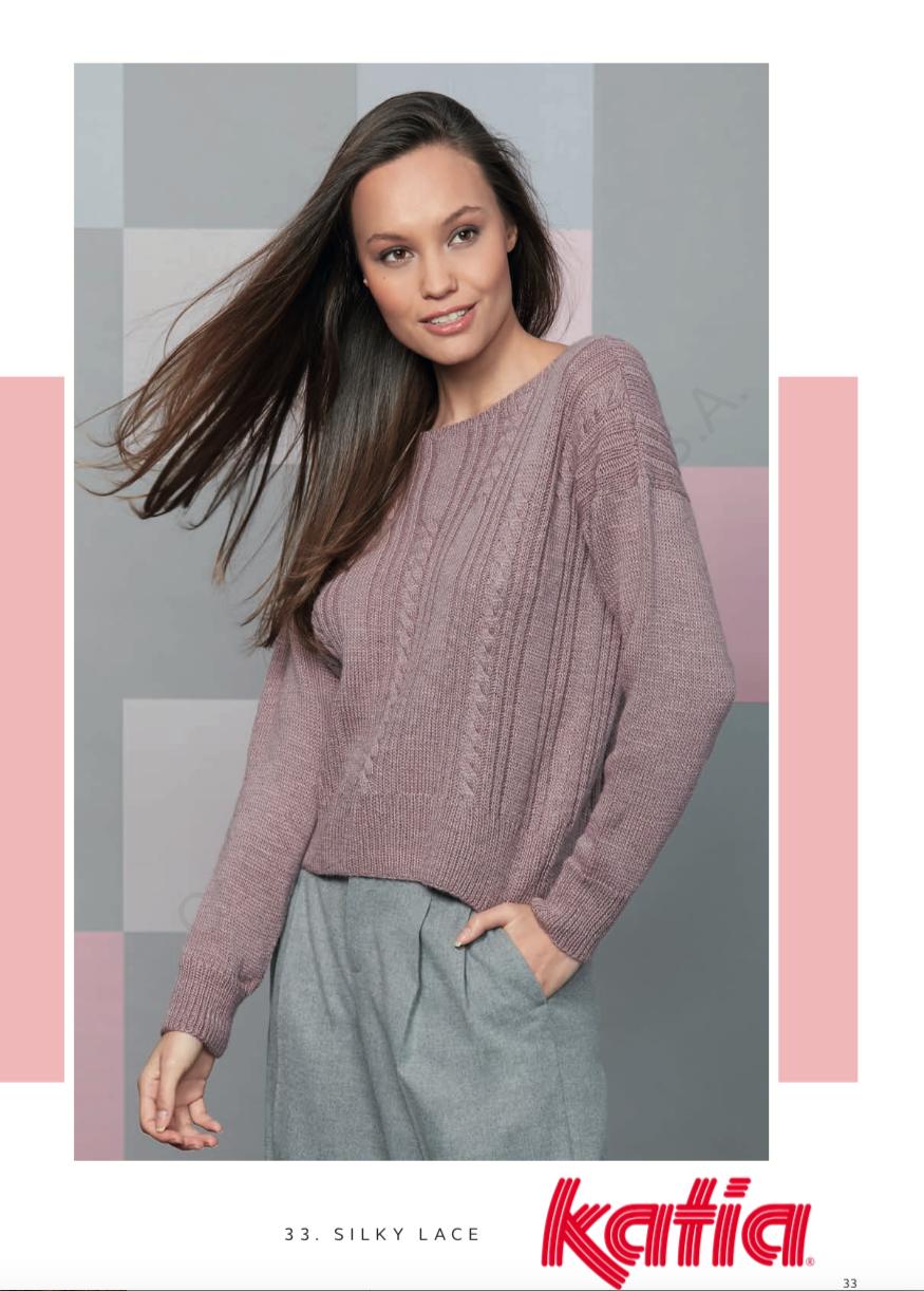 Katia Silky Lace Pattern 33 - Digital Download