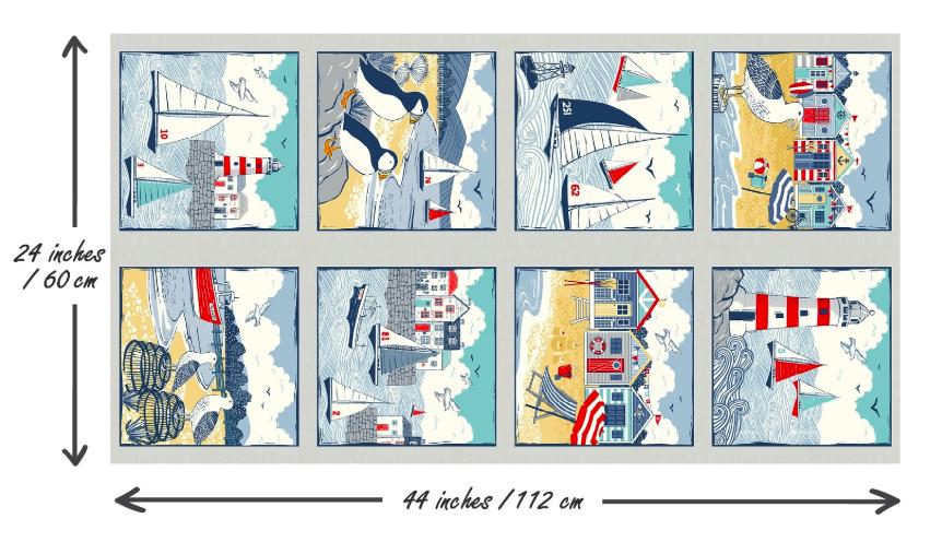Sail Away Panel 2215/1
