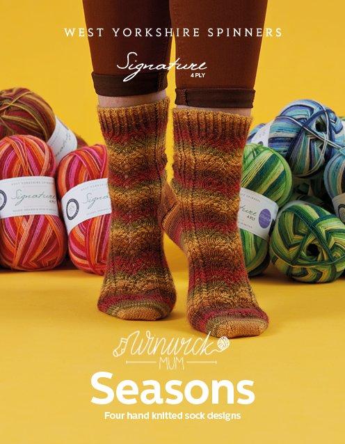 Signature Seasons by Winwick Mum Sock Pattern Book