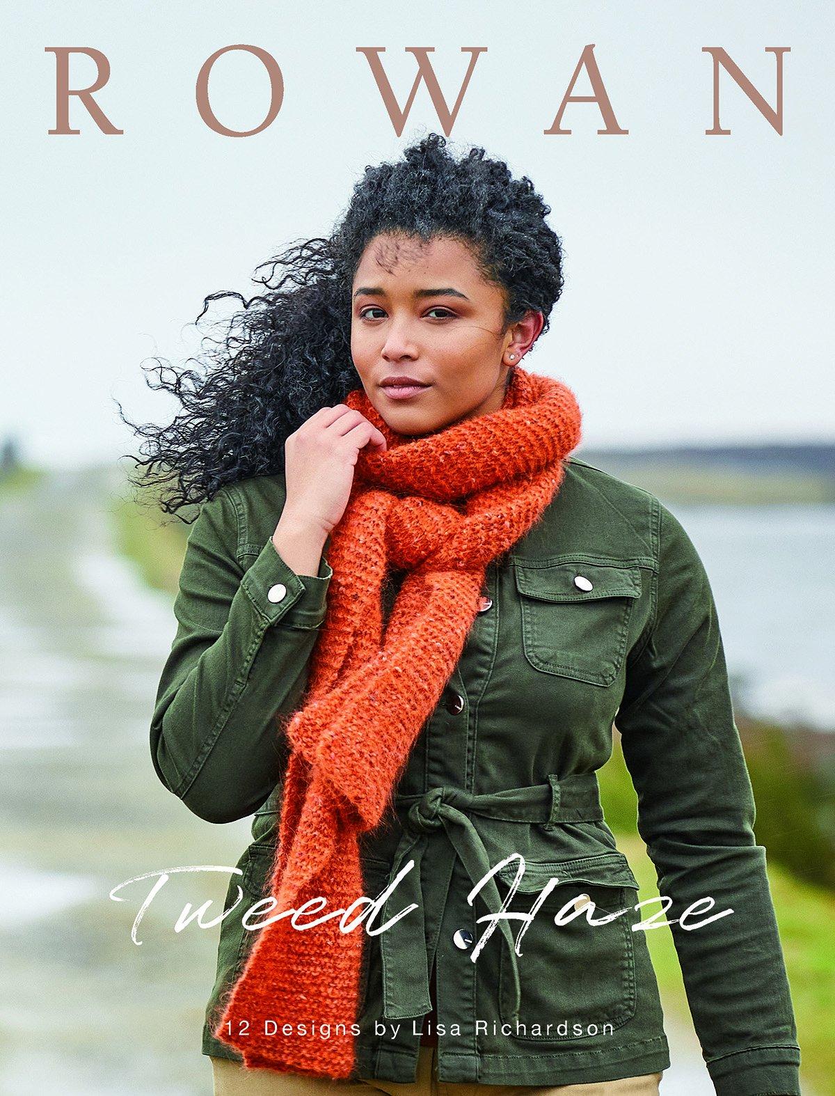 Rowan Tweed Haze Pattern Book by Lisa Richardson