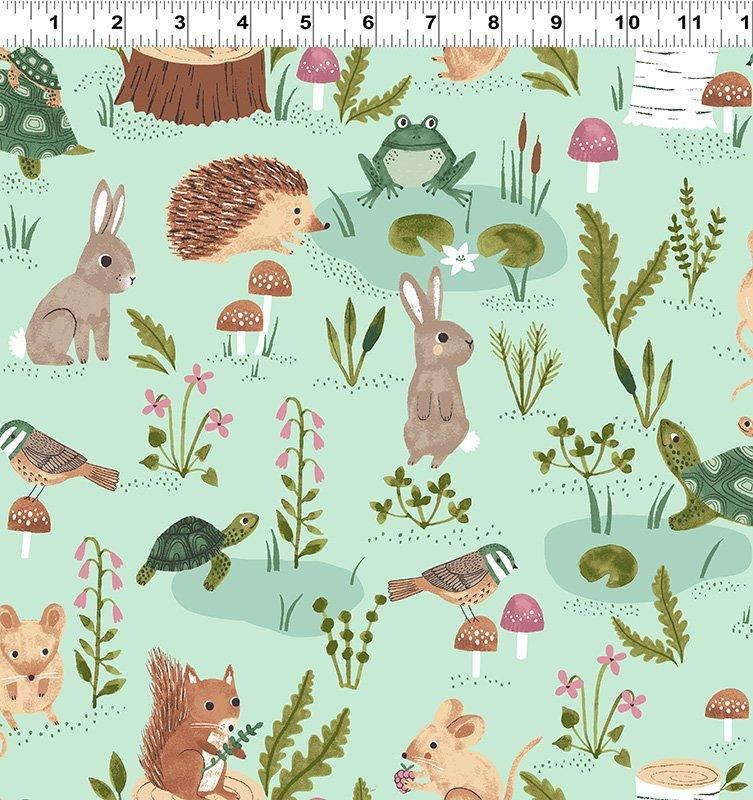 Woodland Wander by Rebecca Jones for Clothworks