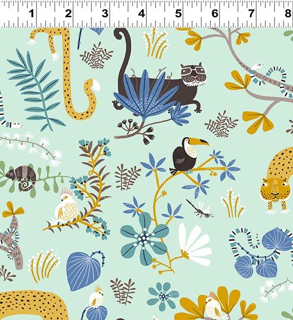 Jungle Jive Collection by Åsa Gilland for Clothworks