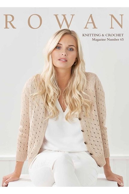 Rowan Knitting & Crochet Pattern Magazine Number 65