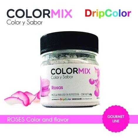 Gourmet Pink Color & Roses Flavor Mix  60 grams By DripColor