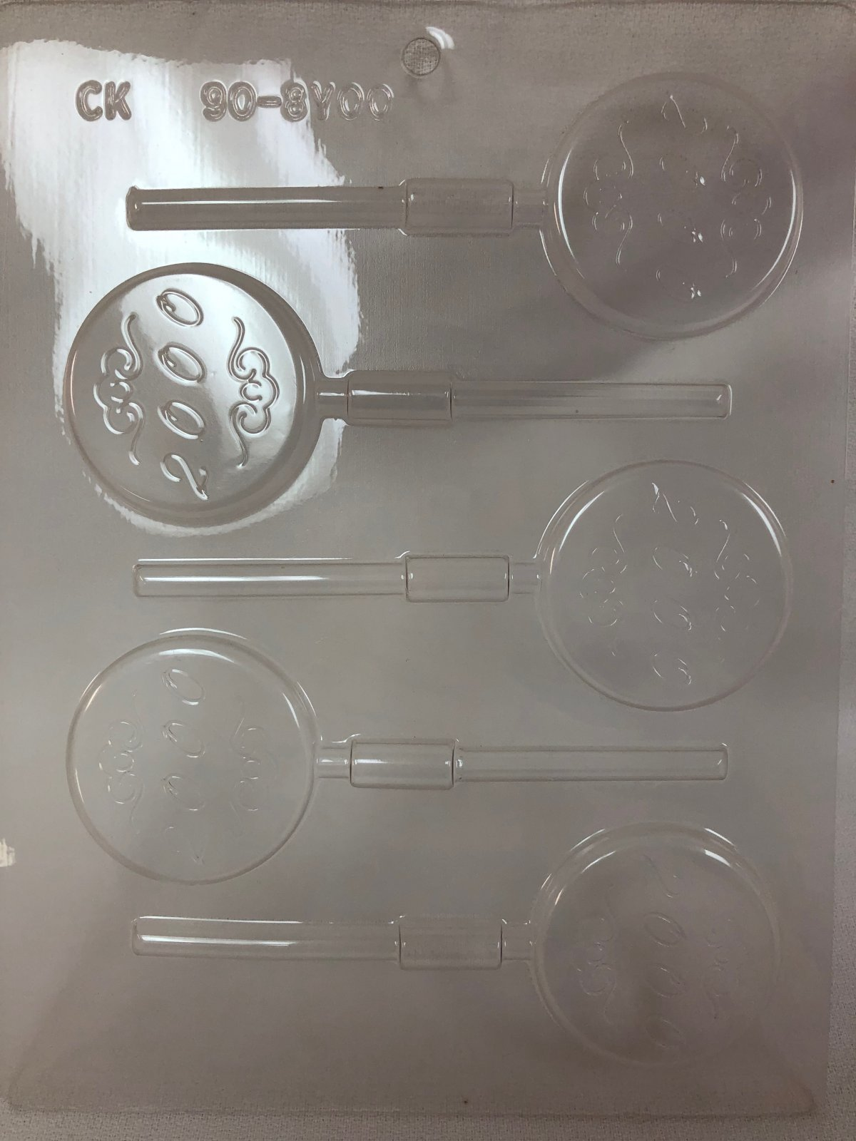 2000 Round Sucker Chocolate Mold