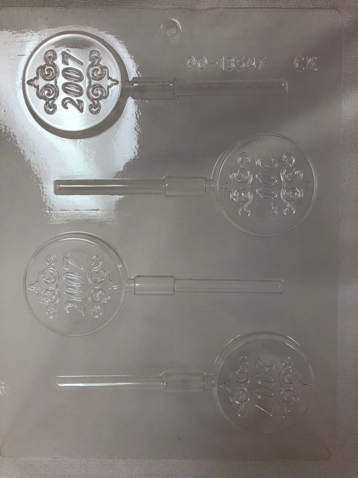 2007 Sucker Chocolate Mold
