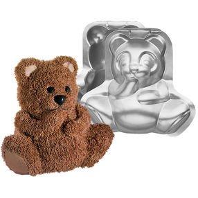 3D Bear cake pan
