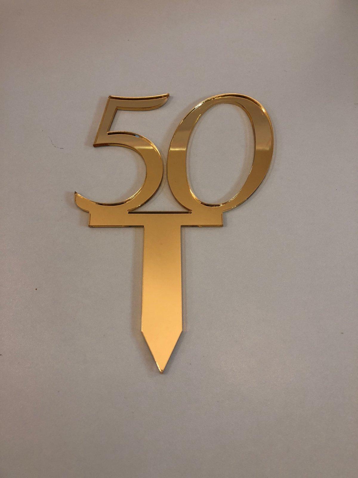 50th Anniversary Pick Mirror Finish