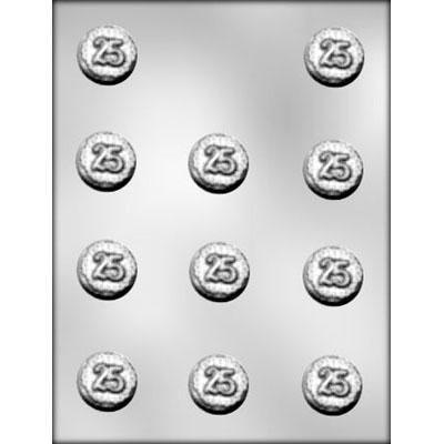 25 Mint Chooclate Mold CK 90- 11327