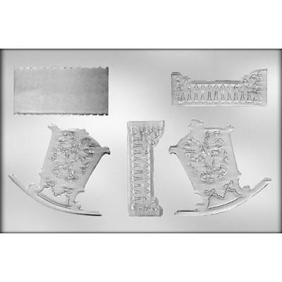 3D Cradle Chooclate Mold CK 90-11540