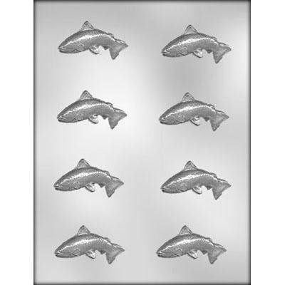 Trout Fish Chocolate Mold CK 90-12853 2 1/2