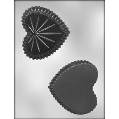 Heart  Box Chocolate Mold CK 90-1305