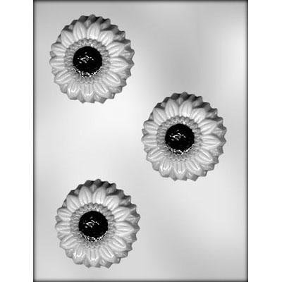3 Sunflower Chocolate Mold CK 90-13184