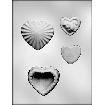 Heart  Box Chocolate Mold CK 90-1902