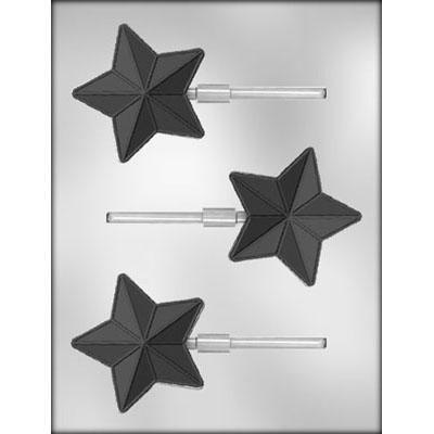 Star Sucker Chocolate Mold Ck 90-4978
