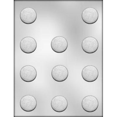 1 3/8 Round Mint Chocolate Mold CK 90-5022
