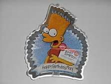 Bart Simpson cake pan