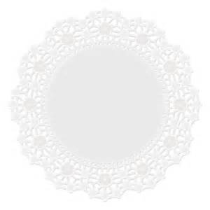 Doilies 8-10-12 white 24 count