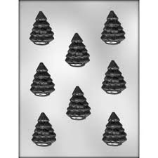 2 Pine Tree Candy Mold Ck 90-4056
