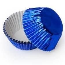 Royal Blue Foil Baking Cups 30ct