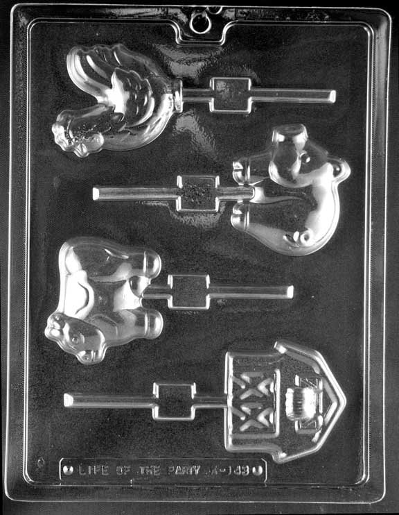 Farm Sucker Chocolate Mold K143