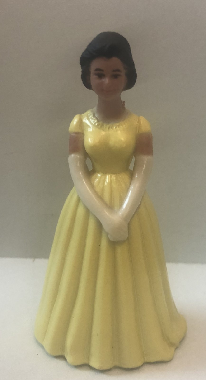 Pale Yellow Ethnic Bridesmaids 3 1/4 Tall
