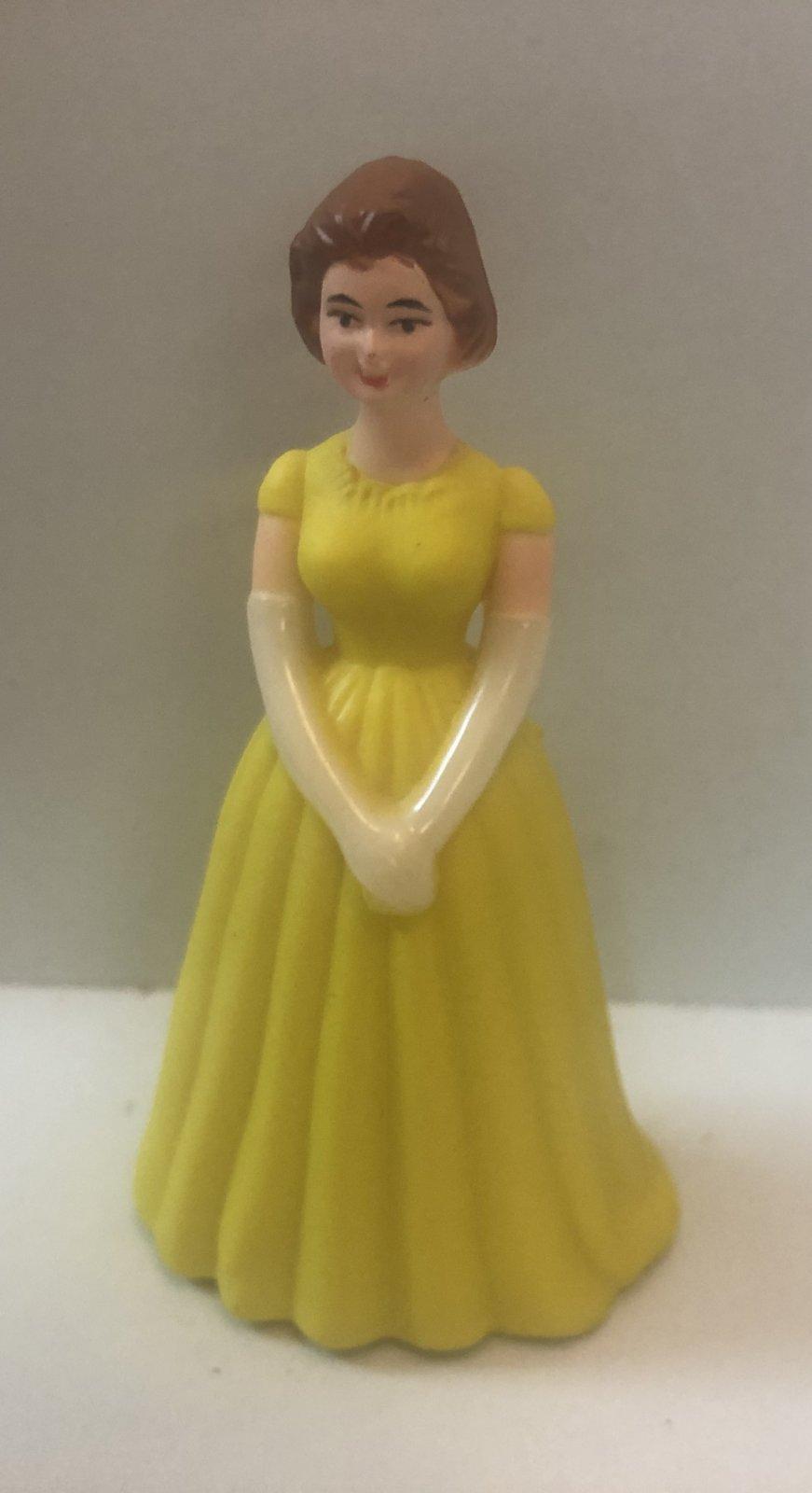 Yellow Bridesmaids 3 1/4 Tall
