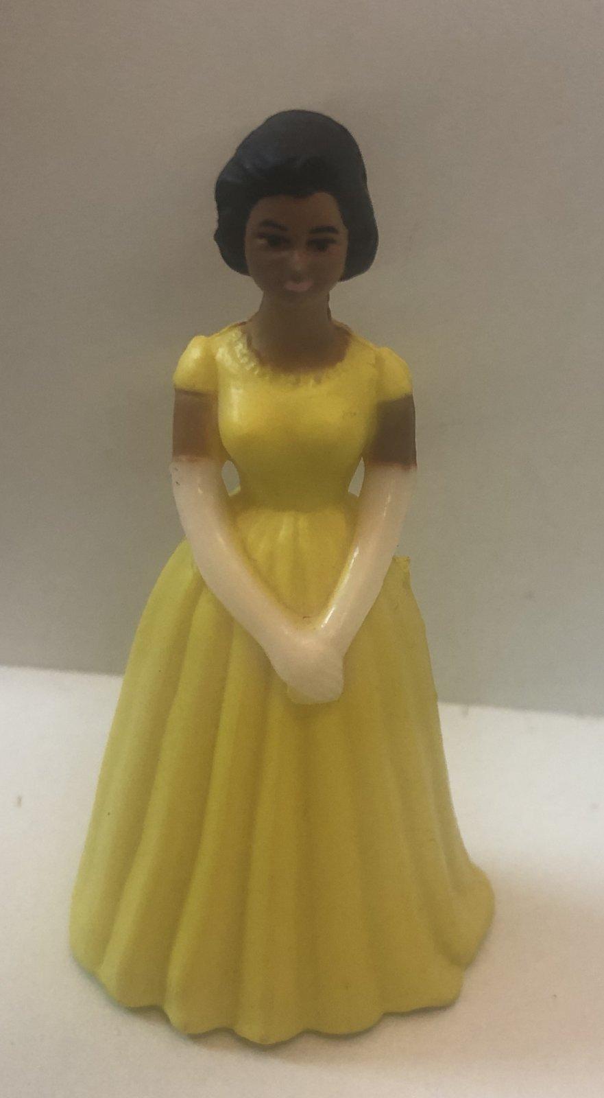 Yellow Ethnic Bridesmaids 3 1/4 Tall