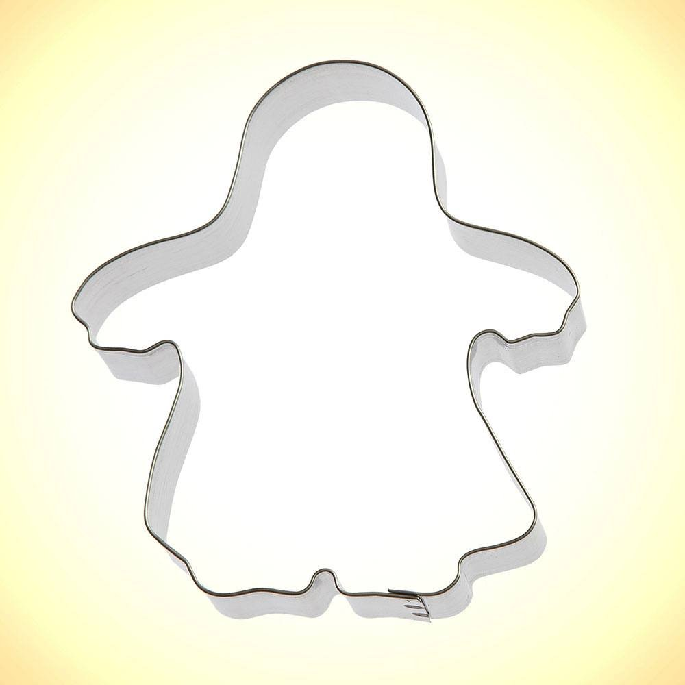 Ghost / Trick or Treater Cookie Cutter 4 1/2