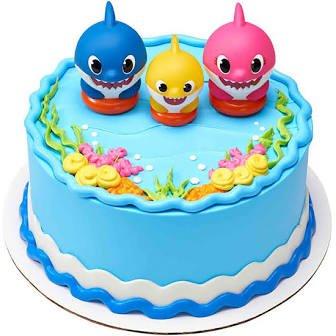 Baby Shark Family cake kit