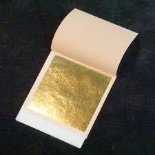 10ct 24 Karat Gold Leaf