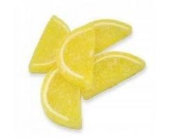 Lemon Jelly Fruit Slices 1/4 lb