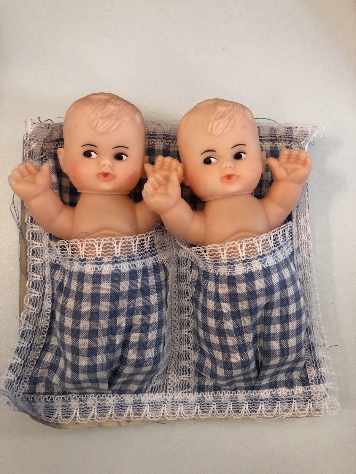 Twin Cupie Dolls Blue Blanket