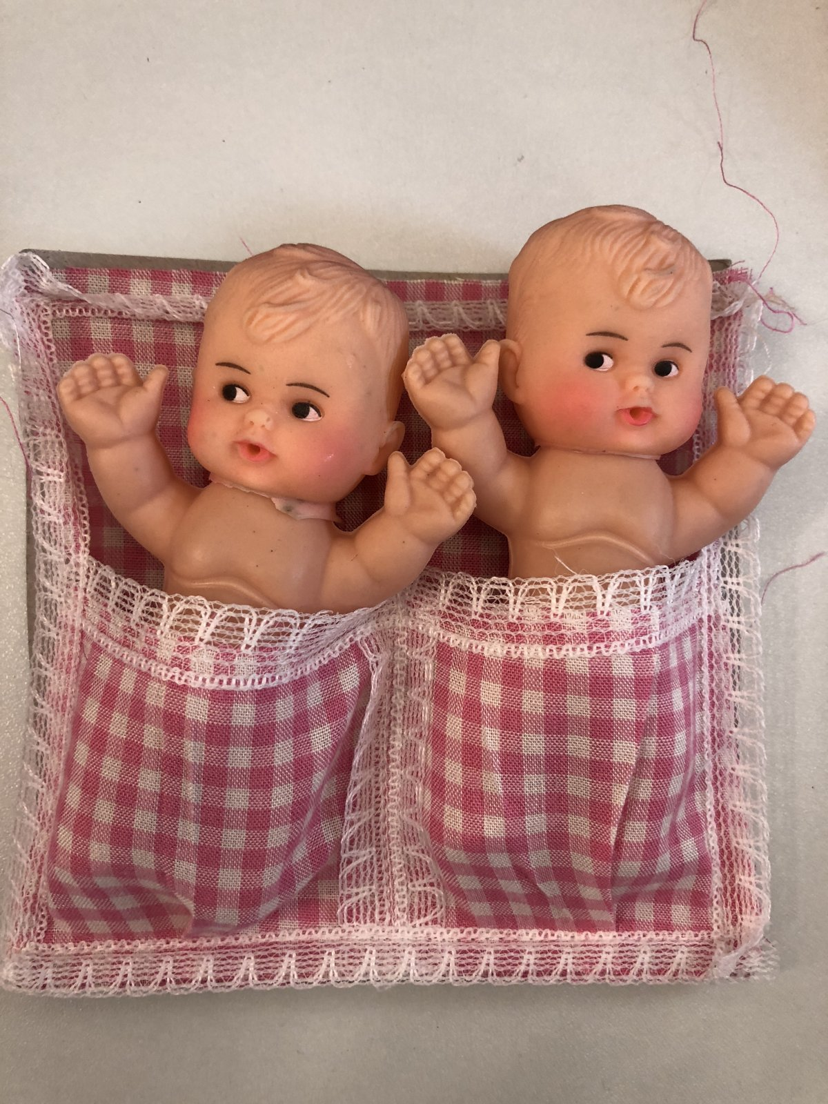 Twin Cupie Dolls Pink Blanket