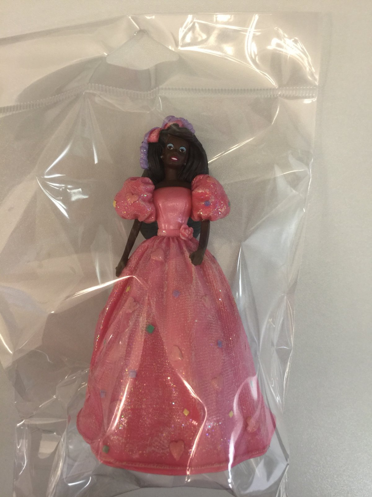 Barbie African American cake topper