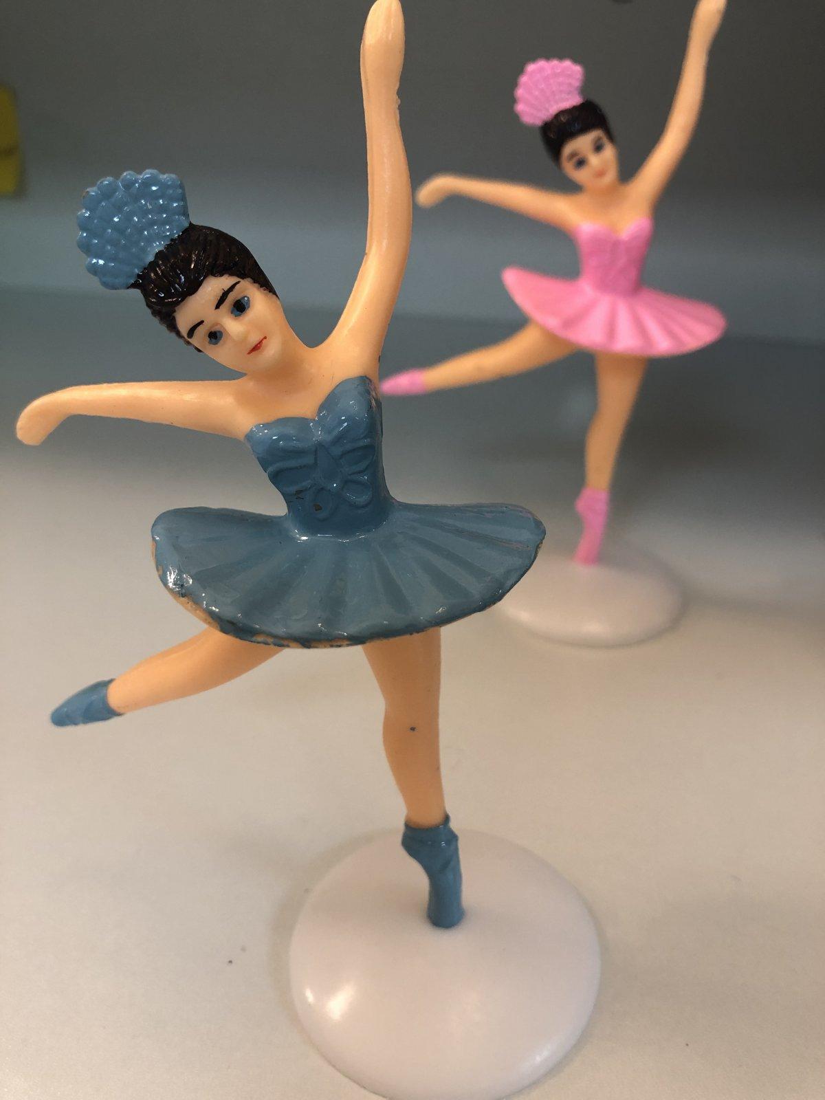 Ballerina Dancing 5 Blue Tutu